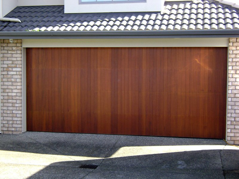 Cedar wooden garage doors in sydney a1 automate for Cedar wood garage doors price